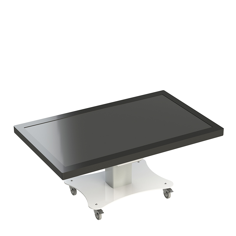 Hidden TV Lifts - Electric Hi-Lo® Mono Mobile Touch Screen Table