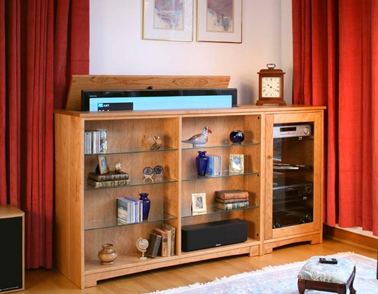 Hidden tv lifts ideas for built in or hidden tv lift for Tv cabinets hidden flat screens