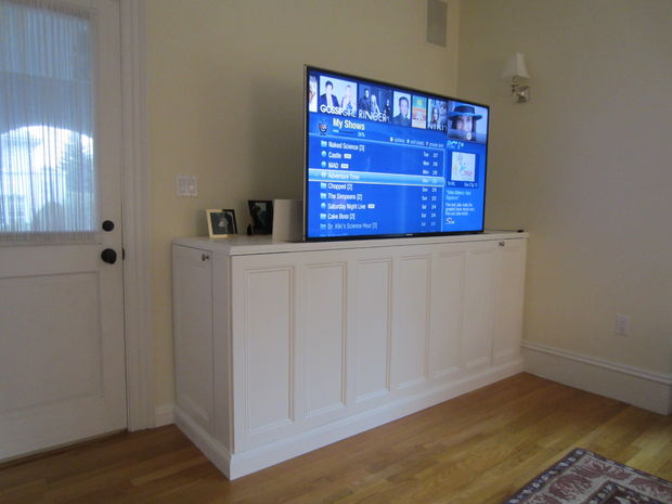 Hidden Tv Lifts Ideas For Built In Or Hidden Tv Lift