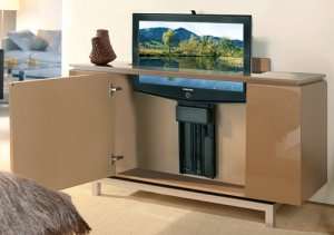 Hidden TV Lifts - Ideas for Built in or Hidden TV Lift Cabinets
